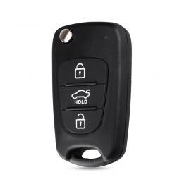 Carcasa cheie auto briceag cu 3 butoane ki-110, compatibil kia allcars