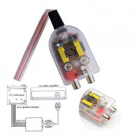 Convertor nivel semnale audio ka-28 maniacars