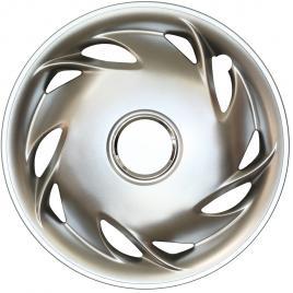 Capace roata 13 inch tip universale, culoare silver 13-104 kft auto