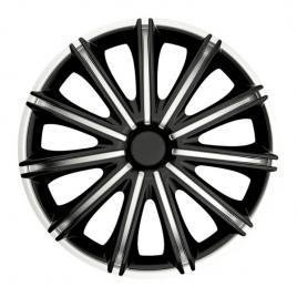 Capace roata 15 inch argo nero, argintiu si negru kft auto