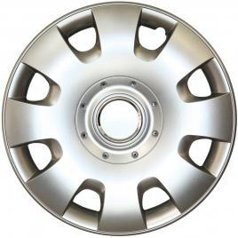 Capace roata 15 inch tip vw, culoare silver 15-304 kft auto