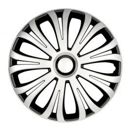 Capace roata 16 inch avera argo, negru si argintiu kft auto