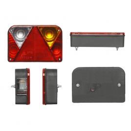 Lampa auto bestautovest pentru remorca universala, 12/24v , 200x135x54mm, cu lampa numar , partea dreapta, 1 buc. kft auto
