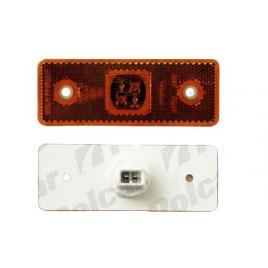 Lampa gabarit auto fer culoare orange cu leduri , 24v , 110x42mm , stanga, dreapta, 1 buc. kft auto