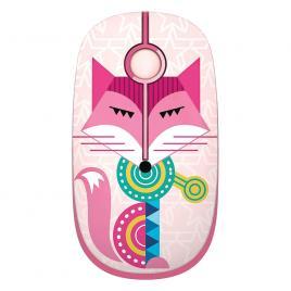 Mouse wireless cu butoane silențioase Super TOUCH, fox