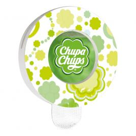 Odorizant auto chupa chups apple , aroma mar verde, fixare grila ventilatie kft auto