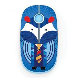 Mouse wireless cu butoane silențioase Super TOUCH, hedgehog