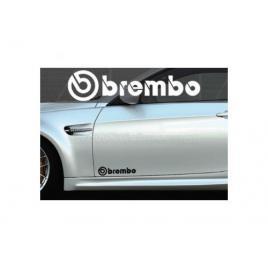Set 2 buc. sticker auto lateral - brembo set 2 buc. sticker auto lateral - brembo