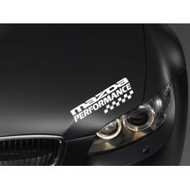 Sticker performance - mazda maniastiker