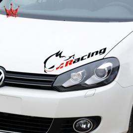 Sticker rabbit racing maniastiker