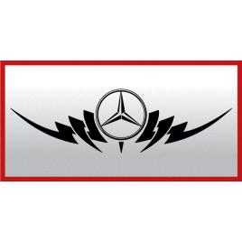 Sticker capota sau luneta - mercedes maniastiker