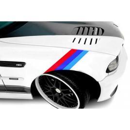 Sticker ornament auto model bmw ///m power (50cm x 18cm) maniastiker