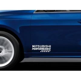 Stickere portiere performance - mitsubishi (set 2 buc) maniastiker