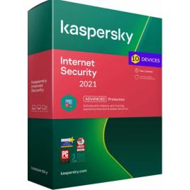 Kaspersky Internet Security 2021 - 10 PC / Dispozitive