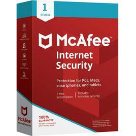 McAfee Internet Security 1PC - 1 An