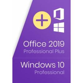 Microsoft Office 2019 Professional Plus+ Windows 10 Professional Retail