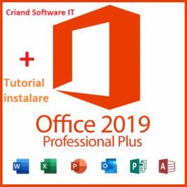 Microsoft Office Professional Plus 2019 - Licenta Permanenta + Tutorial