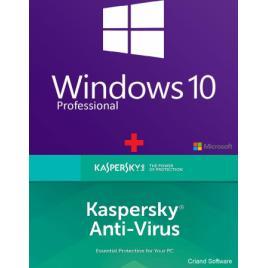Microsoft Windows 10 Pro Retail + Kaspersky Anti-Virus