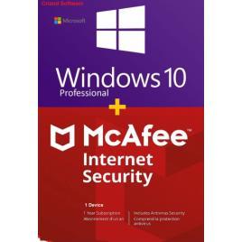 Microsoft Windows 10 Pro Retail + McAfee Internet Security