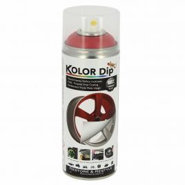 Spray vopsea cauciucata kolor dip rosu metalic 400ml kft auto