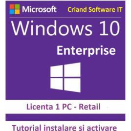 Windows 10 Enterprise-Licenta Permanenta + Tutorial