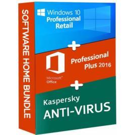 Windows 10 Pro Retail + Microsoft Office 2016 Pro Plus + Kaspersky Anti Virus EU
