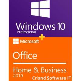 Windows 10 Pro Retail+ Microsoft Office Home Business 2019