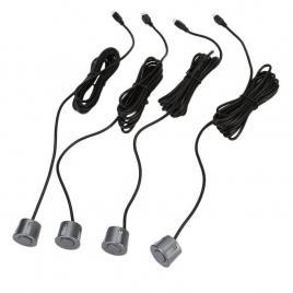 Senzori parcare cu display led, 4 senzori, silver,grey ,promotie
