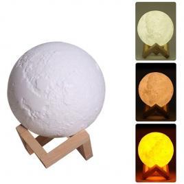 Lampa de veghe in forma de luna cu umidificator,luna moon 3d
