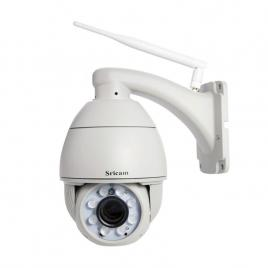 Camera ip wireless sricam sp008b speed dome hd 1.0mp 720p, 40m