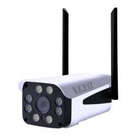 Camera supraveghere exterior ip bullet, 4mp, ir 40 m,  wireless veyo, p2p, onvif, slot card microsd, ir 40m