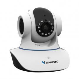 Camera ip wireless hd 720p, ir 10m,  pan tilt audio card vstarcam c7823wip