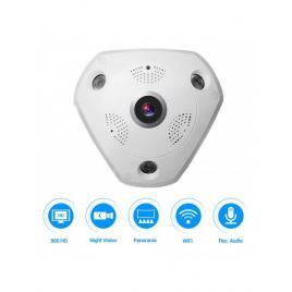 Camera supraveghere video wireless wifi aku interior 360 panoramic 960p ip 1.3mp, ir 5-10 m, super hd + sd card 32 gb