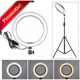 Lampa profesionala led circulara make up photo studio selfie telefon ring light 50w