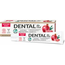 Pasta de dinti 100 natural Dental Bio Vital Natural Protection 75 ml