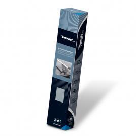Bare  portbagaj din aluminiu marca twinny load tl a10, kit complet cu bare, suporti si antifurt cu cheie kft auto