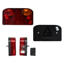 Lampa auto bestautovest pentru remorca universala 12/24v , 240x137x55mm cu 5 functii partea dreapta , 1 buc. kft auto