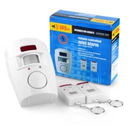 Alarma de securitate wireless cu senzor de miscare si doua telecomenzi