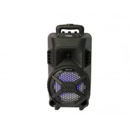 Boxa portabila 20w tip troler, bluetooth, fm, usb, sd, aux, telecomanda + microfon cadou