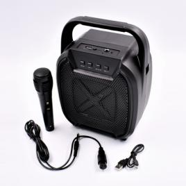Boxa portabila cu mp3,tf usb,bluetooth,microfon,radio fm,