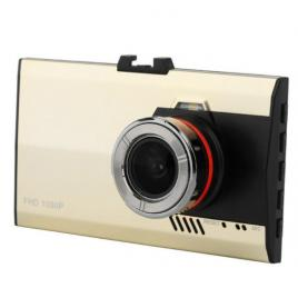 Camera video auto ultra subtire fullhd 1080 gold   silver