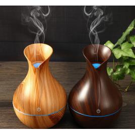 Difuzor uleiuri esentiale aromaterapie cu ultrasunete si umidificator cu led