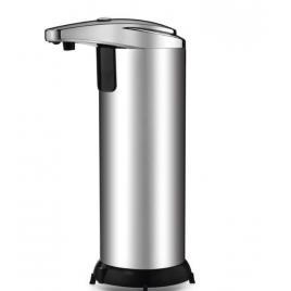 Dozator dispenser metalic cu senzor infrarosu pentru sapun lichid dezinfectant