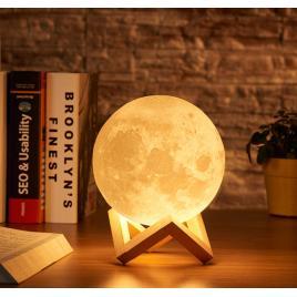 Lampa de veghe in forma de luna - moon light