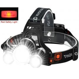 Lanterna de cap 3 led