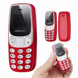 Mini telefon mobil + casca bluetooth cadou