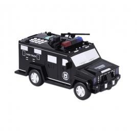 Pusculita inteligenta cash truck cu parola securitate si amprenta