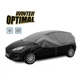 Semi prelata auto winter optimal s-m hatchback pentru protectie inghet si soare, l=255-275cm, h=70cm kft auto