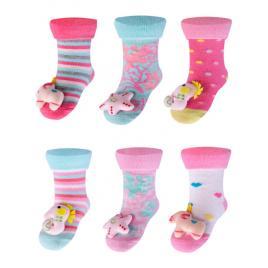 Sosetele colorate cu jucarioara - modele diverse (marime disponibila: marimea...