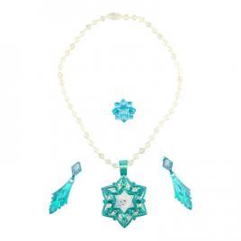 Frozen elsa set diadema si bijuterii